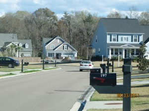 Meredith & Joachim's home is located in this quaint little Summerville subdivision.