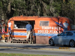 Timbo's Boiled Peanuts were an interesting treat
