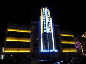 South beach's Breakwater Hotel
