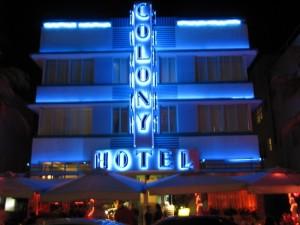 South beach's Colony Hotel