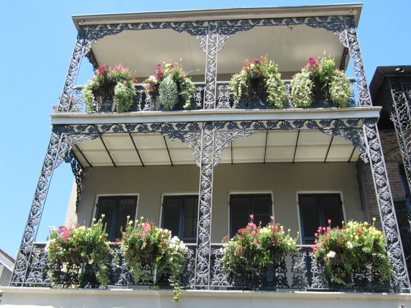 The French Quarter has lots of neat homes too...