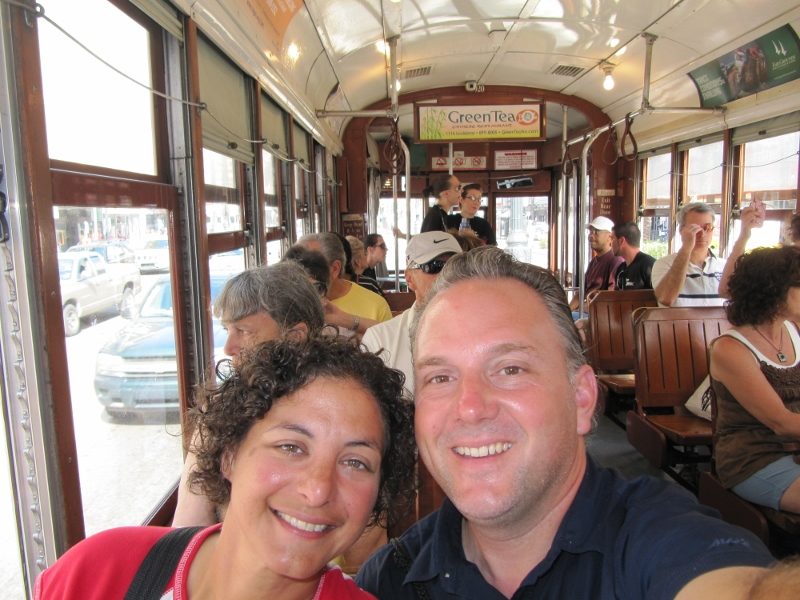 There's more to New Orleans than food and drink. We took the St. Charles St Trolley to check out the Garden District.