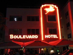 South beach's Boulevard Hotel