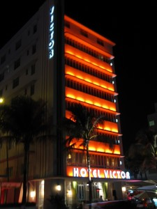 South beach's Hotel Victor