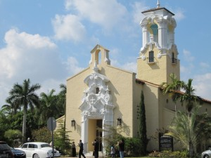 Coral Gables - church