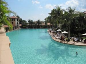 Biltmore Hotel's large swimming pool