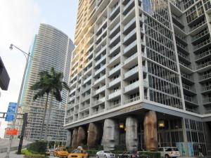 Interesting architecture in Miami's downtown core