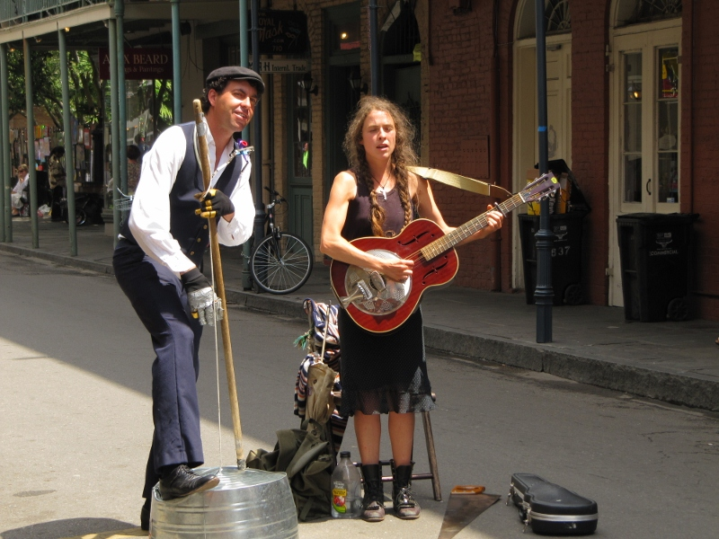 more street performers