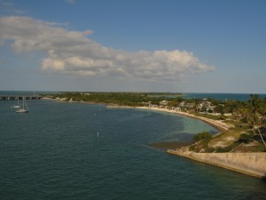 Here's the view from the Southern side of Bahia Honda State Park.