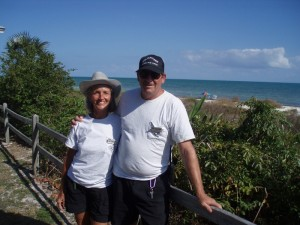 Ginny & Ken are retired math and science teachers from New Jersey.  They recommended several parks including two in Florida - Koreshan State Historic Site and Everglades National Park.  Both were fabulous.