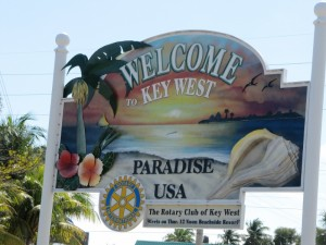 Finally, arriving at Key West!